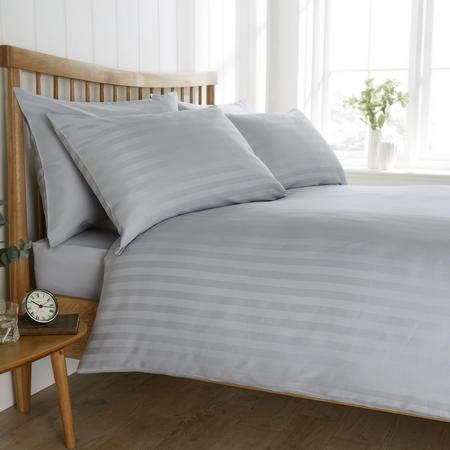 200 Thread Count Egyptian Cotton Duvet Set Grey