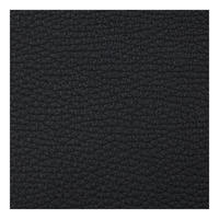 Pebble Grain Leather Slim Billfold Tab Wallet Black