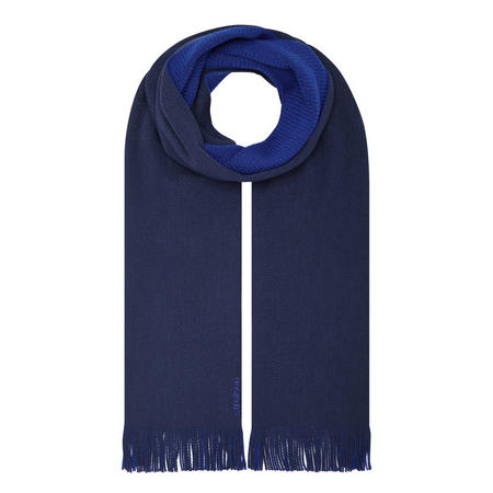 Double Side Scarf Blue