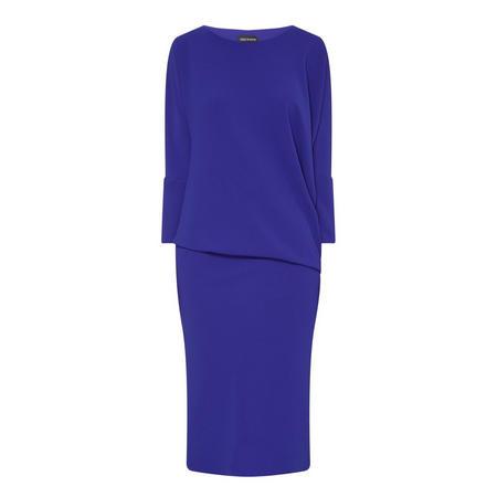 Hudson Drape Sleeve Dress Purple