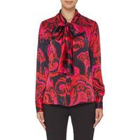 Beau Silk Blouse Multicolour