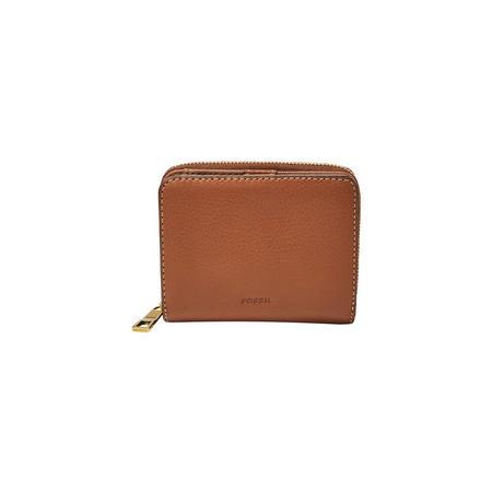 Emma RFID Mini Wallet Brown