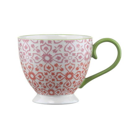 Jasmine Pedestal Mug Pink