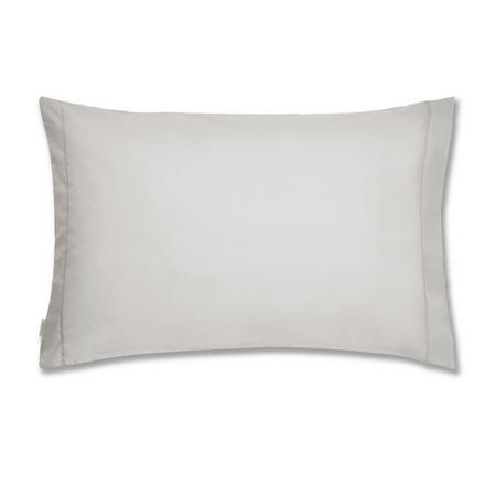 Cotton Soft 200 Thread Count Housewife Pillowcase Pair Grey