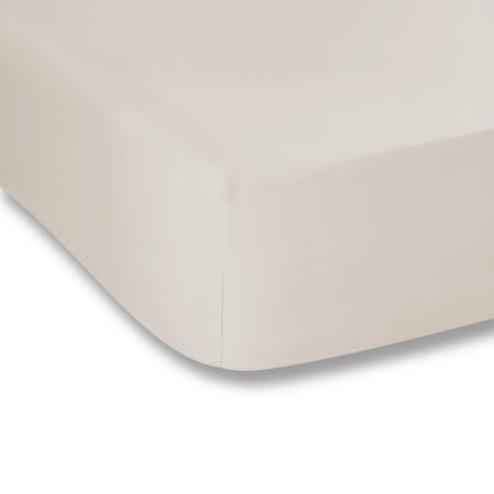 Cotton Soft 200 Thread Count Fitted Sheet Natural