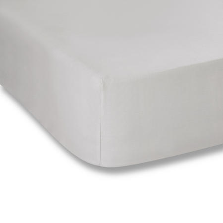 Cotton Soft 200 Thread Count Fitted Sheet Grey