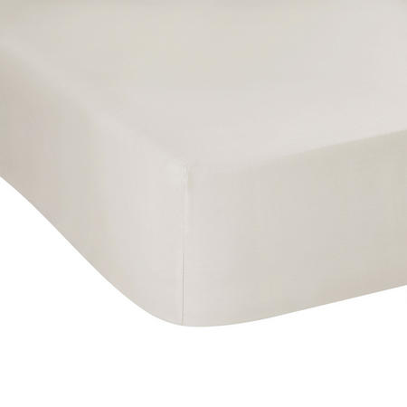300 Thread Count Fitted Sheet Cream