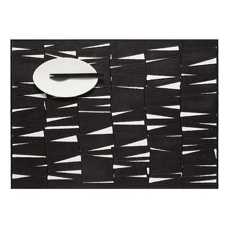 Rectangular Placemat Black