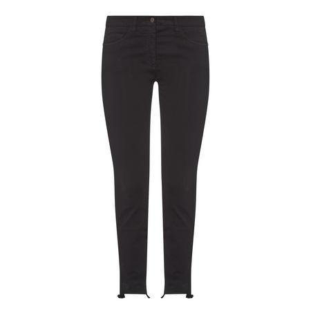 Skinny Fit Trousers Black