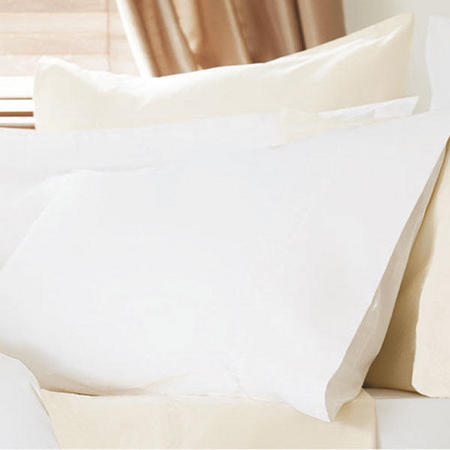 400 thread Count Egyptian Cotton 4-Pack Pillowcase Ivory