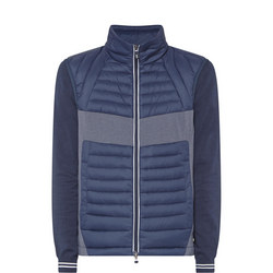 Vecko Quilted Gilet Navy