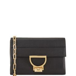 Arlettis Leather Clutch Black