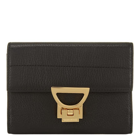Arl Flap Wallet Small Black