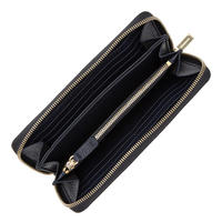 Continental Leather Wallet Navy