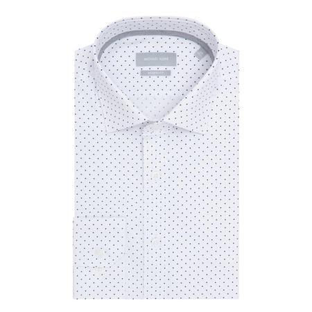 Parma Micro Diamond Shirt White