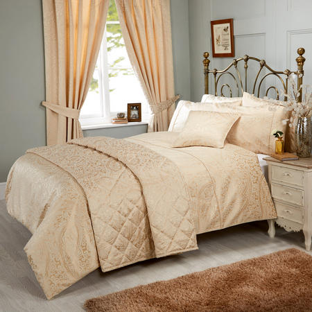 Ravello Duvet Set Gold Gold-Tone