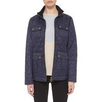 Rachel Quilted Jacket Navy