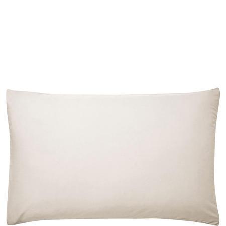 180 Thread Count Standard Pillowcase Pair White