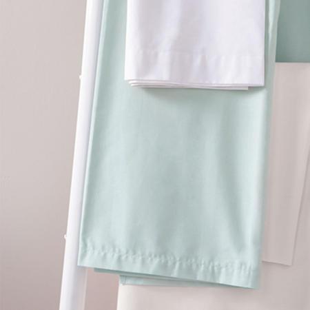180 Thread Count Flat Sheet Blue
