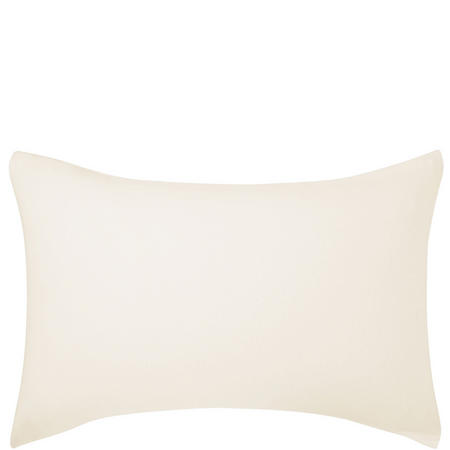Brushed Cotton Housewife Pillowcase Cream