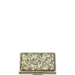 Simply Sparkling Gold Glitter Card Holder By Lenox