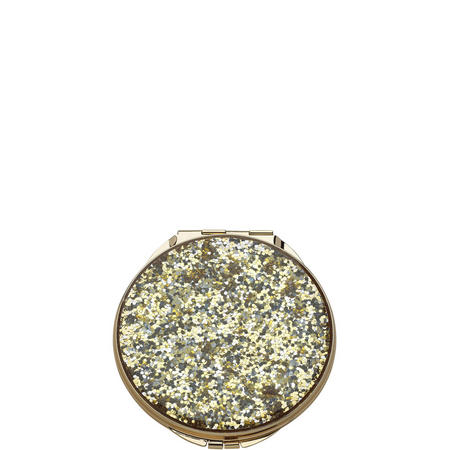 Simply Sparkling Gold Glitter Compact By Lenox