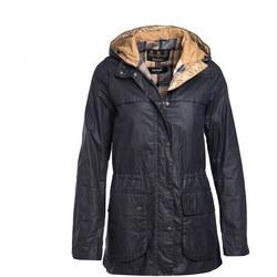 Durham Wax Jacket Blue