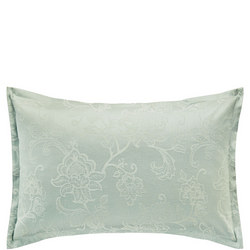 Alencon Oxford Pillowcase Blue