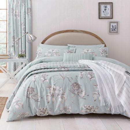 Ecthings & Roses Duvet Set Blue