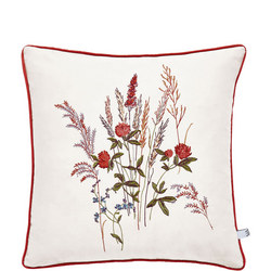 Blythe Meadow Cushion Red