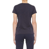 Polka Dot T-Shirt Blue
