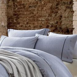 Lifestyle Check Housewife Pillowcase Pair Grey