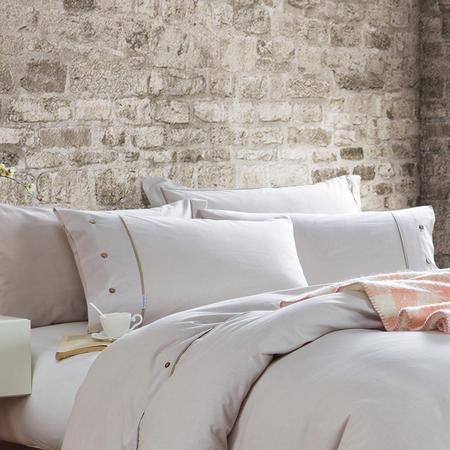 Lifestyle Check Oxford Pillowcase Natural