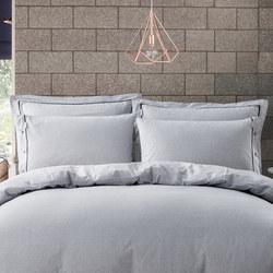 Lifestyle Stripe Oxford Pillowcase Grey