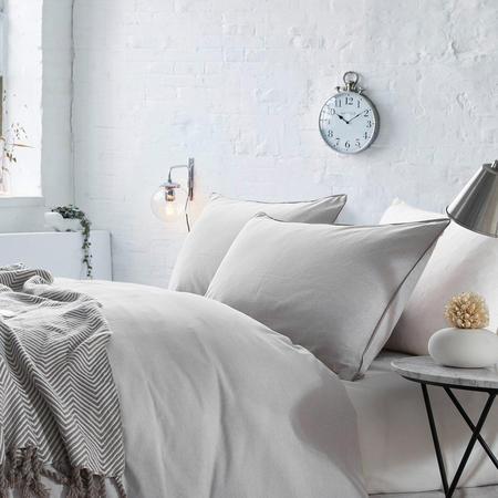 Lifestyle Plain Housewife Pillowcase Pair Natural