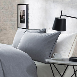 Lifestyle Plain Oxford Pillowcase Grey