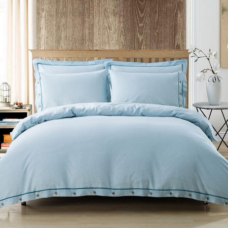 Lifestyle Stripe Duvet Cover Blue