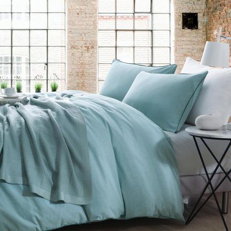 Lifestyle Plain Duvet Cover Blue