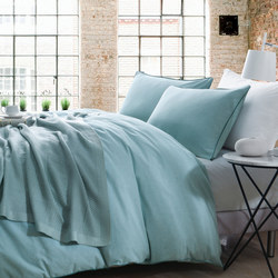 Lifestyle Plain Duvet Cover Blue