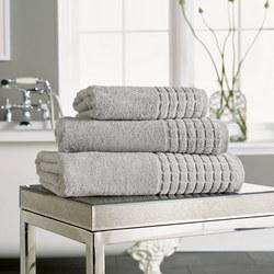 Hotel Combed Towel Grey