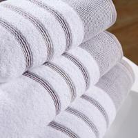 Pintuck Towel Grey