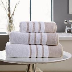 Pintuck Towel Natural