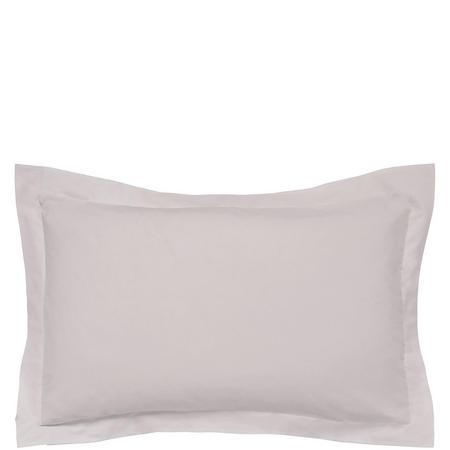 300 Thread Count Cotton Percale Oxford Pillowcase Beige
