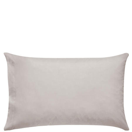 300 Thread Count Cotton Percale Housewife Pillowcase Beige