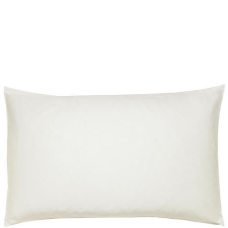 600 Thread Count Cotton Sateen Housewife Pillowcase Cream