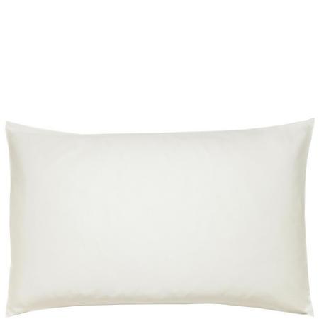 600 Thread Count Cotton Sateen Housewife Pillowcase Cream