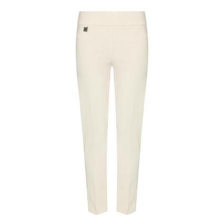 Slim Fit Trousers Beige
