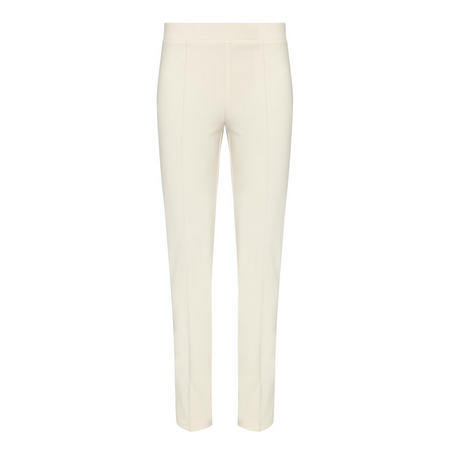 Slim Fit Trousers Beige