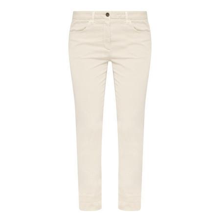Crup Slim Trousers Beige