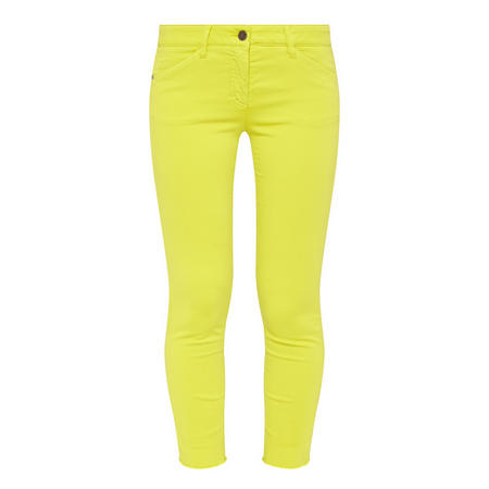 Straight Fit Trousers Green